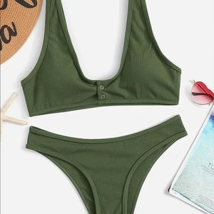 ‼️New Army Green Swimsuit‼️
